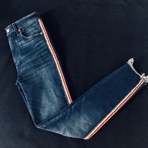 Abercrombie & Fitch Simone High Ride Ankle Denim